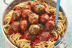5 september - Pastasaus + spaghetti in de bonus bij Albert Heijn = de basis voor dit heerlijke (en goedkope) gerecht - Recept - Allerhande