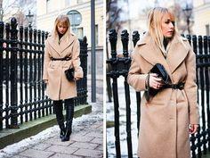 ¿Cómo combinar tu abrigo en color camel?