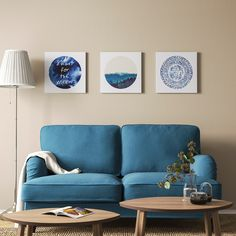 IKEA offers everything from living room furniture to mattresses and bedroom furniture so that you can design your life at home. Check out our furniture and home furnishings! At Home Furniture Store, Modern Home Furniture, Affordable Furniture, Collage Mural, Blue Poster, Ikea Usa, Blue Butterfly, Blue Moon, Home Furnishings