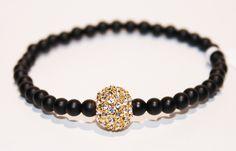 Astoria Couture - Vobara/stretchy Pave Ball and Stones Bracelete, $125.00 (http://www.astoriacouture.com/vobara-stretchy-ave-ball-and-stones-bracelete/)