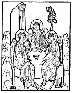Orthodox Saints Colouring Book | - coloring pages -