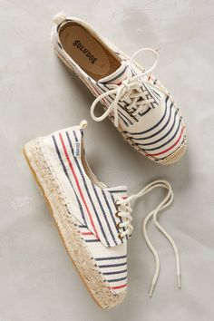 Soludos Striped Canvas Sneaker | Anthropologie