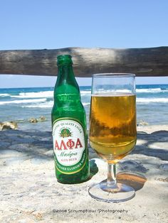 Greek beer, yes please.