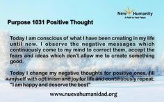 Purpose 1031 Positive Thought
