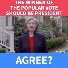 Agree or disagree: The winner of the popular vote should be president.  Like our page for more --> USA Politics Today #manaccessoriesworld