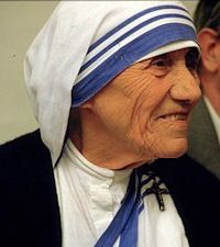 Blessed Mother Teresa of Calcutta, Foundress Missionaries of Charity, pray for us.  Feast day September 5.