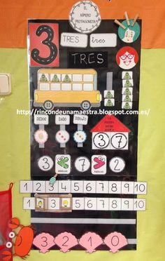 """Hoy quiero enseñaros el panel de """"El número protagonista"""" que estamos realizando a diario en la asamblea. Os cuento, uno a uno, los ... Numicon, Ludo, Transitional Kindergarten, Dora, Math Boards, Grande Section, Classroom Rules, Math Numbers, 1st Grade Math"""