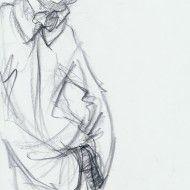Irina Ternauciuc – Fashion sketch 17