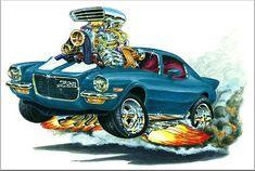 Madd Dogg's Muscle Car Art | Hood Stripe Color - Black White Qty -