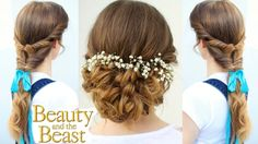 Emma Watson's Belle Inspired Hairstyles | Beauty and the Beast Hairstyle...
