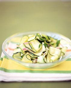 Zucchini Ribbons with Mint                                             Email              Save        Print                                                     Email              Save