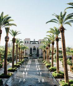 Four Seasons Resort Marrakech #marrakech #morocco