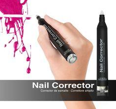 Ya puedes corregir los errores de tu manicura de una forma rápida y sencilla.  Nail Corrector: http://ow.ly/Kogvr  #TENIMAGE #uñas #manicura #corrector