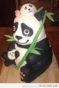 CutestFood.com - Part 26 Panda cake!!!!!!!