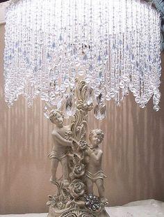pretty crystal lamp.