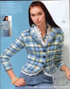 ¿Crochet-Chanel? Me encanta la idea.