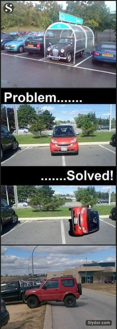 of The Most Hilarious People Who Won At Parking - Slydor - Your Daily Dose Of Fun. Sarcastic Pictures, Funny Photos Of People, Funny Love Pictures, Hilarious Photos, New Funny Memes, Funny Pranks, Funny Stuff, Funny Shit, Funny Couple Photography