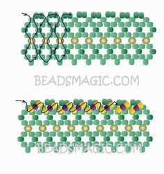 Free pattern for beaded necklace Marriage Day U need: seed beads round beads mm rice beads or drops beads Free Beading Tutorials, Beading Patterns Free, Free Pattern, Seed Bead Jewelry, Bead Jewellery, Seed Beads, Beading Jewelry, Beaded Necklace Patterns, Bracelet Patterns