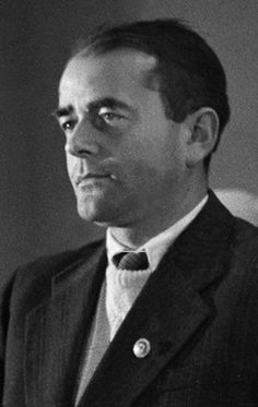 Albert Speer with his party badge.