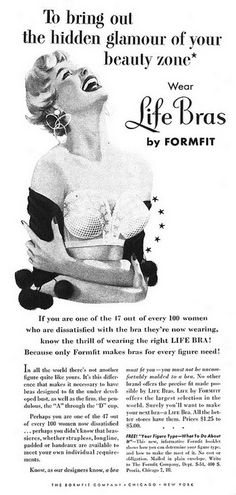Formfit Bras #retro #ad #bra #fashion www.mibralady.com