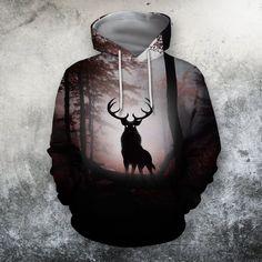 Hunting Hoodies, Feeling Great, Keep Warm, Zip Hoodie, Hooded Sweatshirts, Deer, Cool Designs, Unisex, Tank Tops