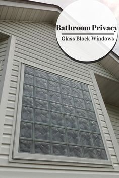 Bathroom Windows Block framing a glass block bathroom window - super easy diy project