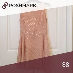 Forever 21 Retro Polka Dot Dress Forever 21 retro, gold leaf flowy dress! Forever 21 Dresses Strapless