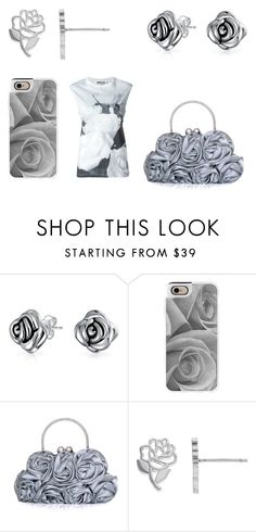 """Rose"" by cocodesign-1 ❤ liked on Polyvore featuring Bling Jewelry, Casetify, Disney and McQ by Alexander McQueen"