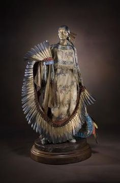 The Honor Dress - Sculpture by Dave McGary - available at Meyer Gallery