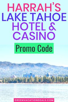 Amazing Lake Tahoe travel hacks for your next vacation. Discounted rates at Harrah's Lake Tahoe Hotel & Casino. Cheap nightly rates, up to 35% off with promo codes. Enjoy luxury resort with mountain & lake views. #LakeTahoe #LuxuryTravel #TravelHacks #HotelDeals #TravelSale #HotelSale #SummerVacation #SummerTravel #LuxuryVacation #TravelTips #Slots #Gaming #Gambling #luurysuite Summer Travel, Travel With Kids, Tahoe Hotels, Hotel Deals, Lake View, Lake Tahoe, Luxury Travel, Trip Planning, Traveling By Yourself