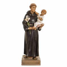 ca402864435 San Antonio de Padua 40 cm. estatua resina Fontanini