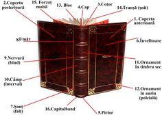 Arta Cărții: Structura Cărții (I) Books, Libros, Book, Book Illustrations, Libri