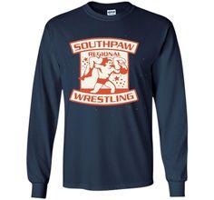 Southpaw regional wrestling t shirt
