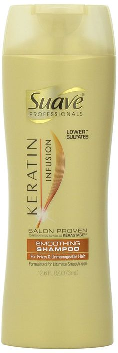 Suave Keratin Infusion Smoothing Shampoo for Unisex, 12.6 Ounce >>> Learn more by visiting the image link.