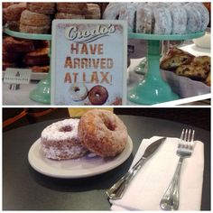 What do you get when you cross a croissant with a donut? A Crodo! These very delicious and very popular pastries have landed La Provence Cafe in T4 (American)! Get your hands on one or several Crodos before your flight! #flylaxintl