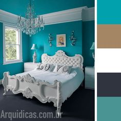 Springs Hot Color of the Season Mint Teal and Bedrooms