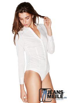 Vero Moda Bodybluse in weiß bei jeans-meile.de
