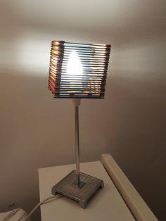 DIY Lampenschirm in Form eines Lichtwürfels von DO-Iteria www.doiteria.com