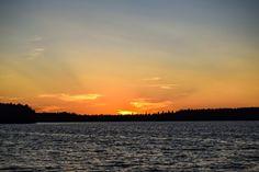 Beautiful sunset! @ sääksjärvi
