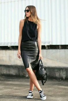 Fabulous outfit idea to copy ♥ For more inspiration join our group Amazing Things ♥ You might also like these related products: - Skirts ->. Converse Outfits, Girly Outfits, Pretty Outfits, Stylish Outfits, Beautiful Outfits, Fashion Outfits, Unique Outfits, Fashion Ideas, Fashion Trends