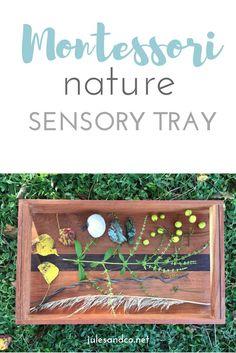 Make a sensory tray