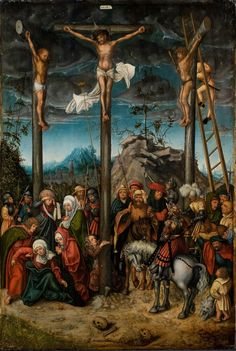 Lucas Cranach the Elder - Die Kreuzigung Christi (The Crucifixion of Christ), c.1506 - 1520