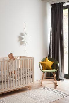 Kutikai Peekaboo Cot/Modern Nursery Furniture at MOOD Modern Nursery Furniture, Toddler Furniture, Furniture Design, Plywood Furniture, Bed Furniture, Furniture Stores, Baby Bedroom, Kids Bedroom, Nursery Inspiration