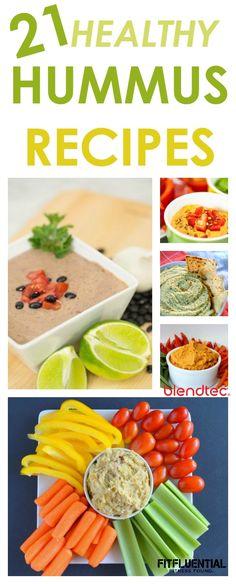 21 Healthy Hummus Recipes