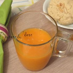 Smoothie de mango y zanahoria Picoteandoideas