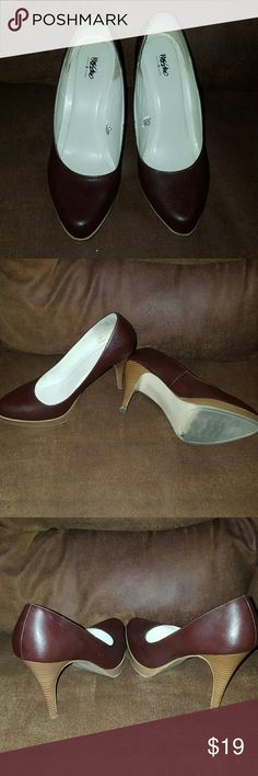 Brown pumps 4 inch Mossimo Supply Co Shoes Heels