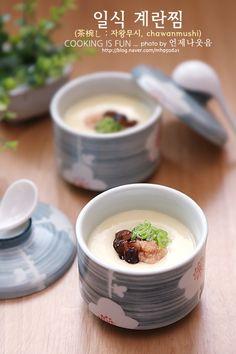 언제부턴가 일식계란찜은 은근 귀찮아...보들보들한 맛은 덜하나 바로바로 해먹을 수 있는 직화계란찜을 주... Korean Dishes, Japanese Dishes, Korean Food, Egg Recipes, Paleo Recipes, Asian Recipes, Cooking Recipes, Food Design, Pudding