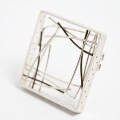 Designer Brooch - Contemporary Jewelry