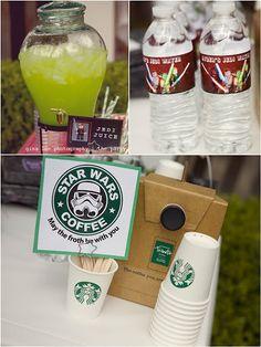 Star Wars party drinks - Jedi Juice!