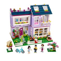 39.10$  Watch here  - Bela 10541 731Pcs Friends Emma's House Model Building Kits  Blocks Bricks Girl Toy Gift 41095 Toys for Children